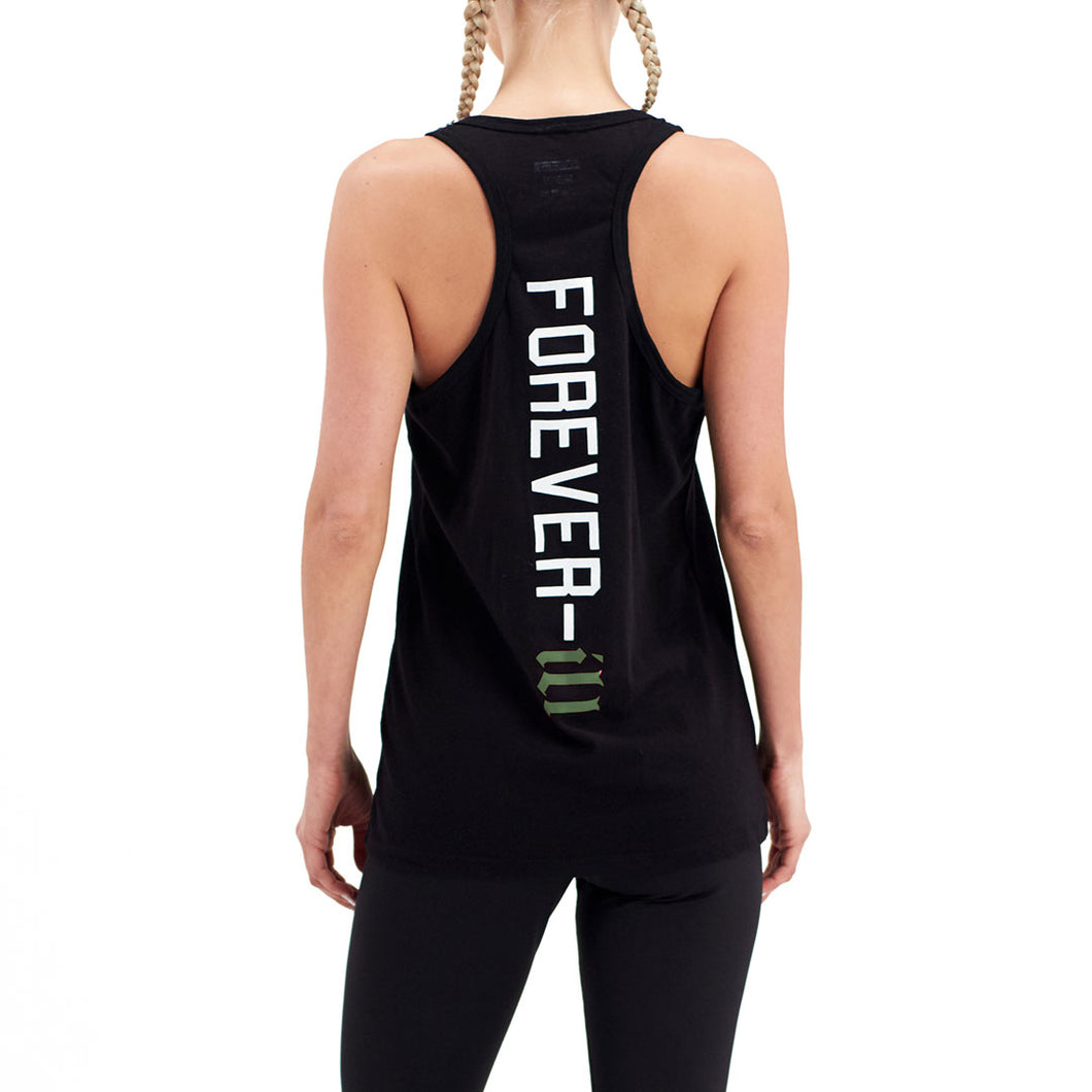 Womens Forever Ill Tank Green Wave