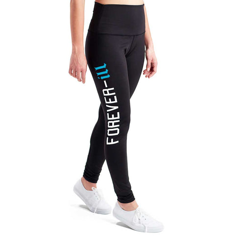 Blue Wave Womens Forever Ill Leggings