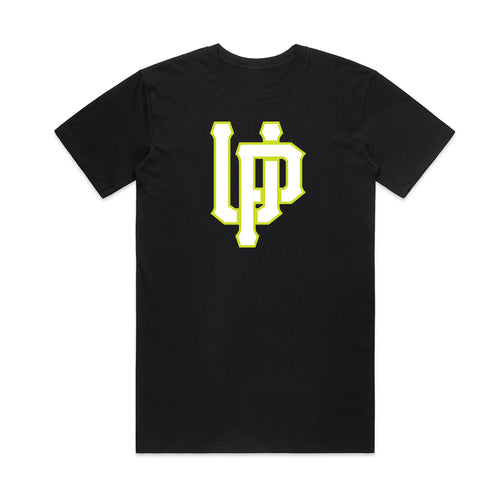 White UP w/ Lime Black T-shirt