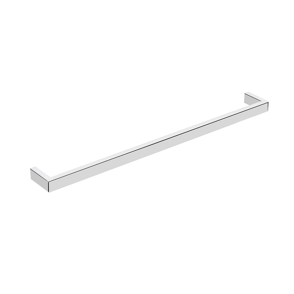 DAX Venice Single Towel Bar, Wall Mount, Brass Body, Chrome Finish, 23-5/8 Inches (DAX-GDC060167-CR)