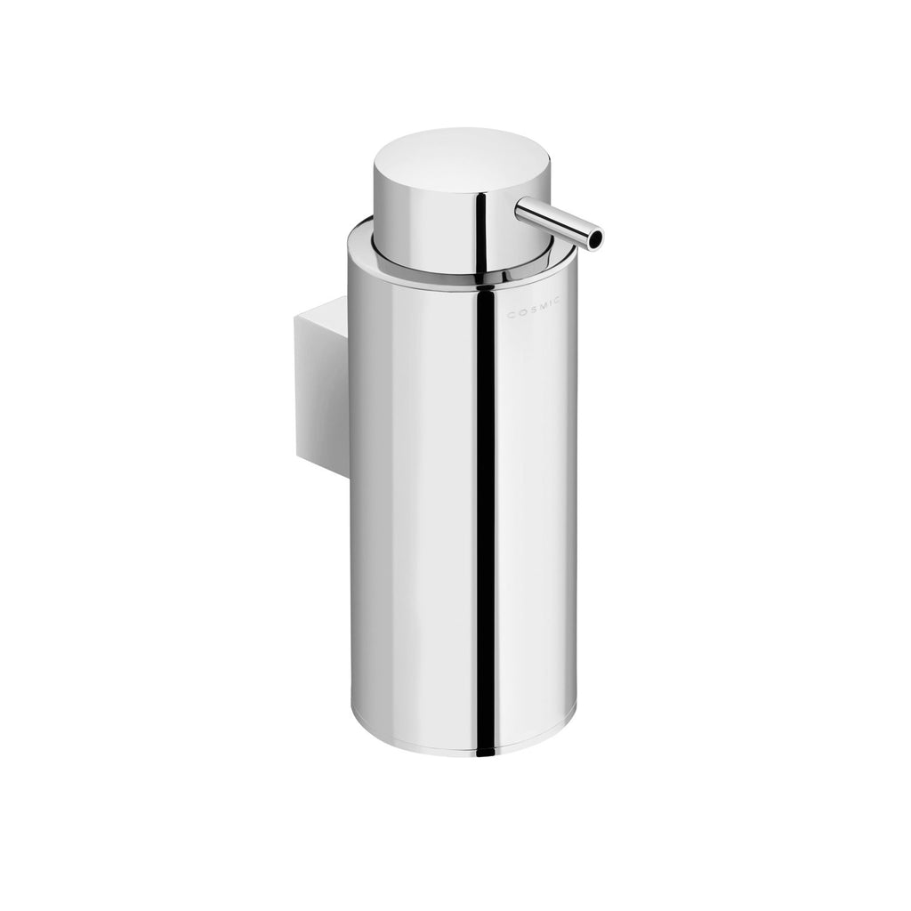 COSMIC Project Soap Dispenser, Wall Mount, Stainless Steel Body, Chrome Finish, 2-9/16 x 6-1/2 x 4-5/16 Inches (2510105)