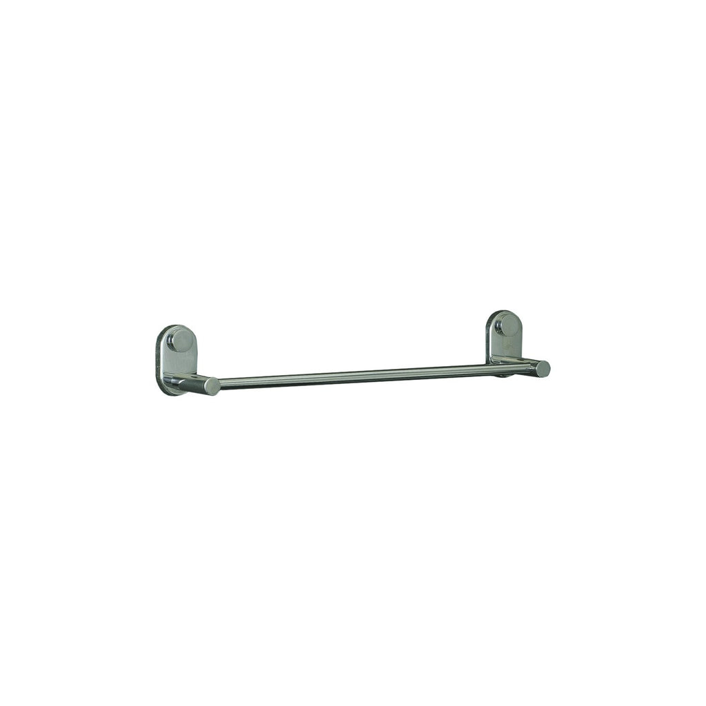 DAX Single Towel Bar, Wall Mount Stainless Steel, Satin Finish, 18 x 2-3/4 x 3-1/8 Inches (DAX-G0203-S-18)
