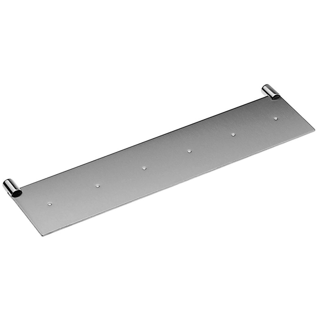 COSMIC Logic Corner Bathroom Shelf, Wall Mount, Stainless Steel Body, Matte Chrome Finish, 15-3/4 x 5/8 x 4-1/8 Inches (2260346)