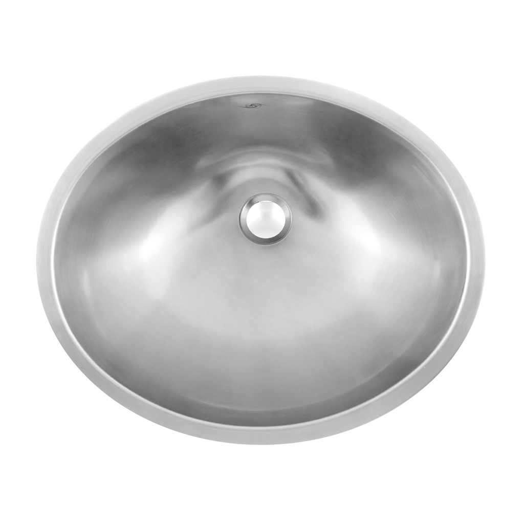 DAX Single Bowl Undermount Kitchen Sink, 18 Gauge Stainless Steel, Brushed Finish , 19-1/8 x 16-1/8 x 7 Inches (DAX-1916)