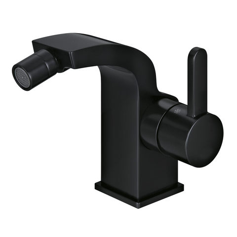 DAX Single Handle Bidet Faucet, Brass Body, Black Finish, 4-5/16 x 4-1/2 Inches (DAX-8560-PB)