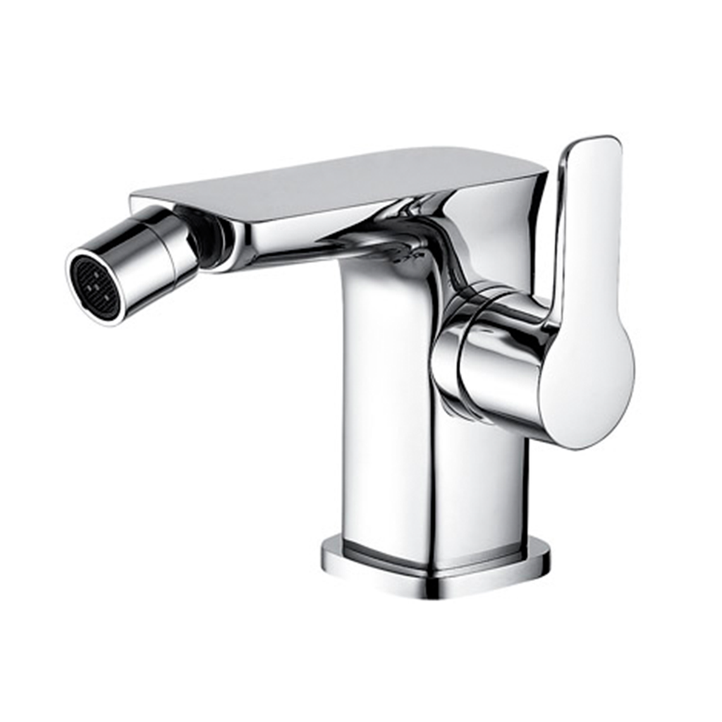 DAX Single Handle Bidet Faucet, Brass Body, Chrome Finish, 4-7/16 x 4-1/4 Inches (DAX-8583-CR)