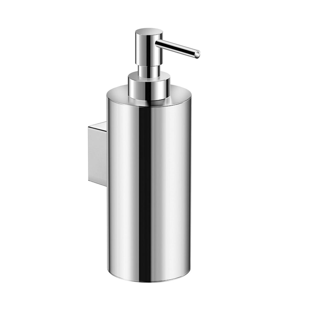 COSMIC Architect Soap Dispenser, Wall Mount, Brass Body, Chrome Finish 2-7/16 x 7-3/16 x 4-3/16 Inches (2050103)