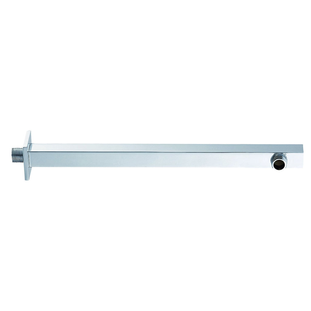 Dax Brass Square Shower Arm 15 Inches Chrome Finish (DAX-1011-375-CR)