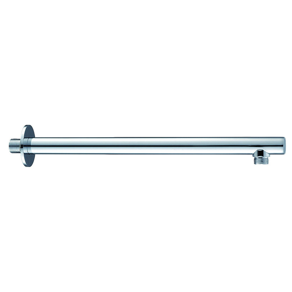 Dax Brass Round Shower Arm 12 Inches Chrome Finish (DAX-1053-300-CR)