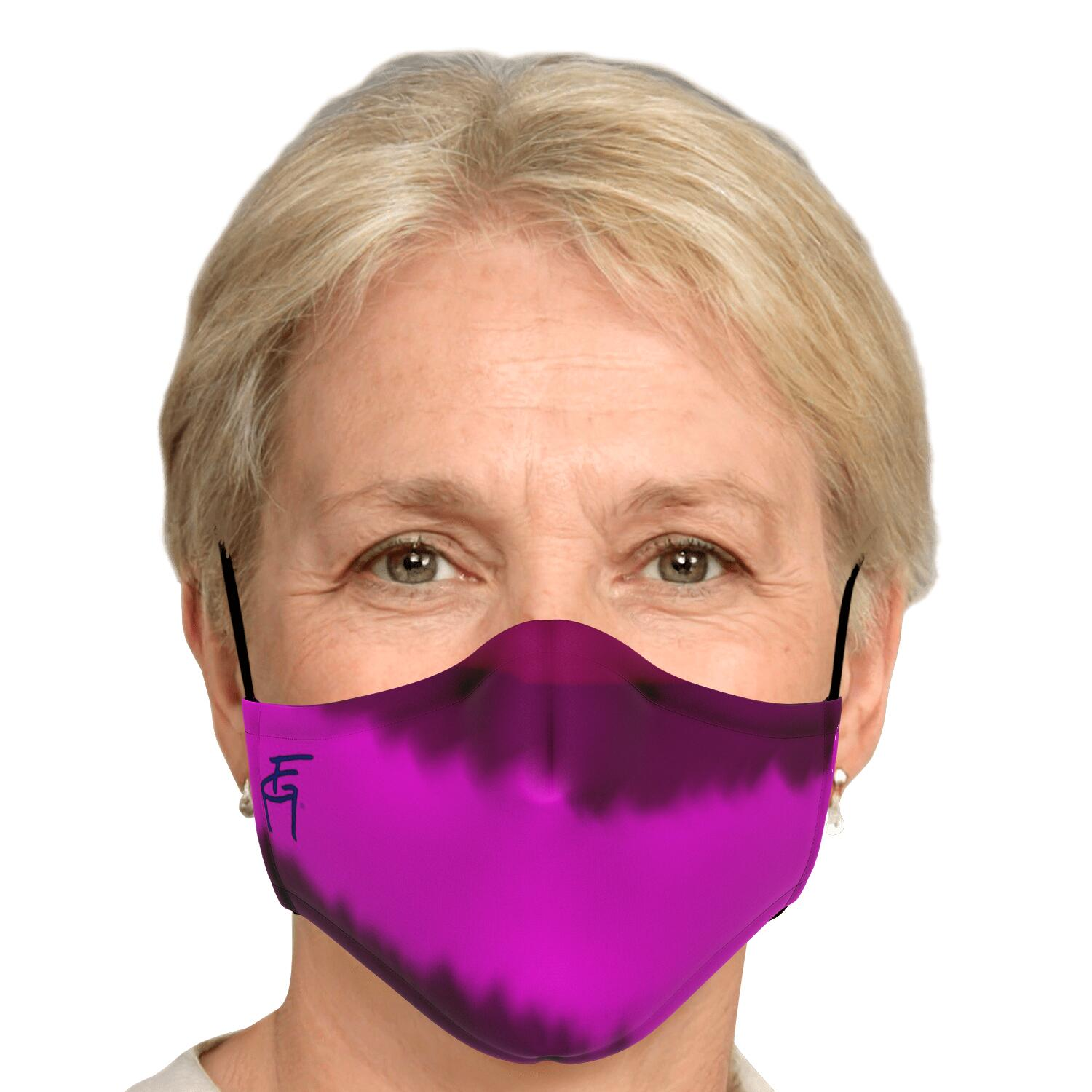 PURPLE HAZE BY FACEGARMENT.COM FACE MASK