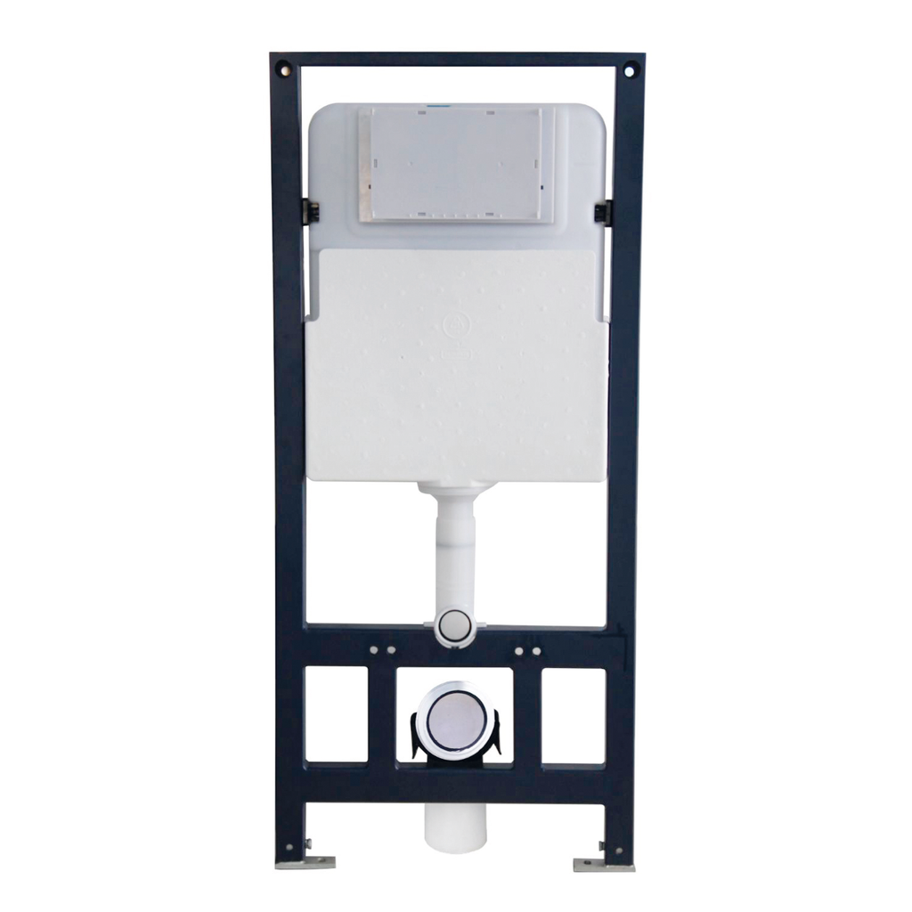 DAX Rectangle Toilet Concealed Cistern, Wall Mount, Compatible with BSN-CL11025  BSN-CL-11002A, 19-15/16 x 45-1/16 Inches (BSN-CL17010)