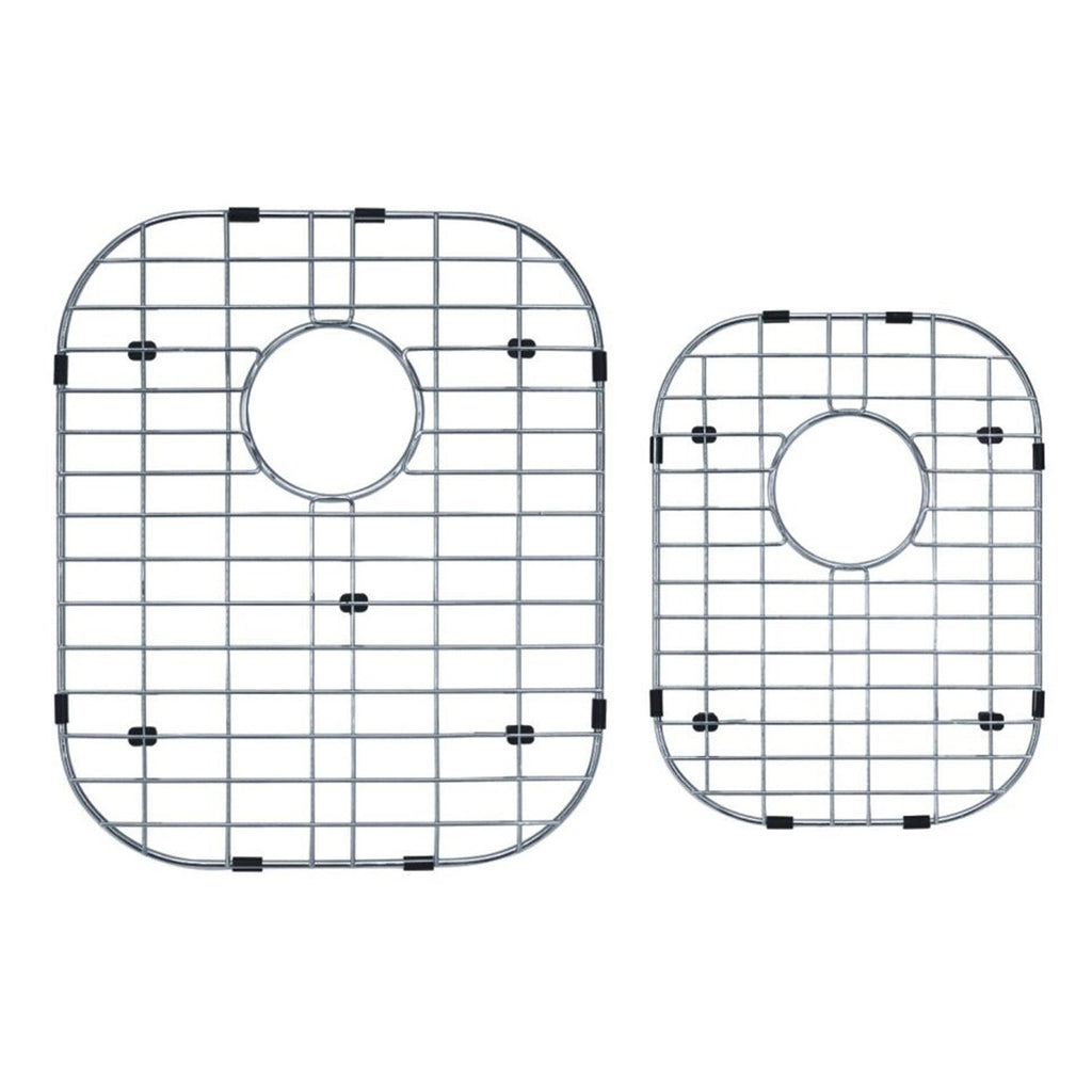 DAX Grid for Kitchen Sink, Stainless Steel Body, Chrome Finish, Compatible with DAX-3120L - DAX-3120R, (GRID-3120L-R)
