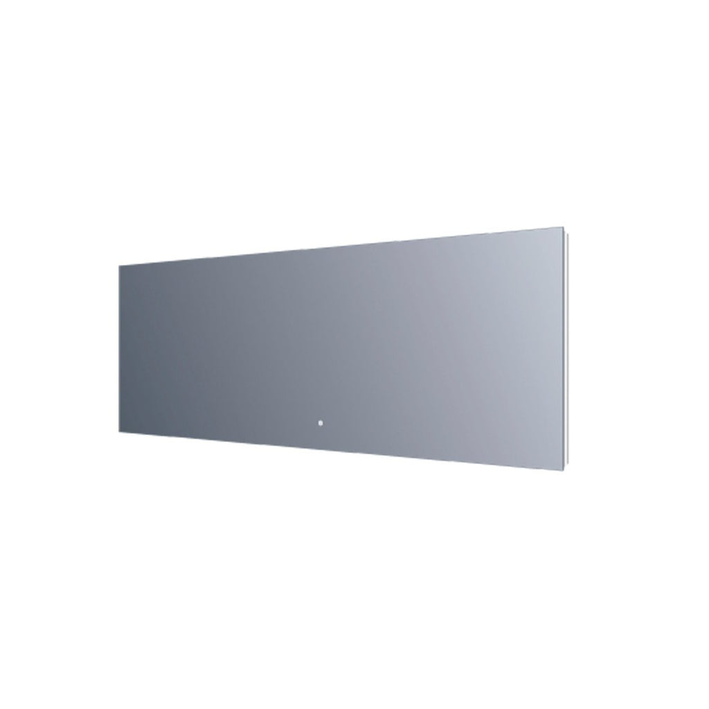 "64"" LED Mirror. Reflected Light. Touch Sensor switch. 64""x24"" (DAXDL03C-16060)"