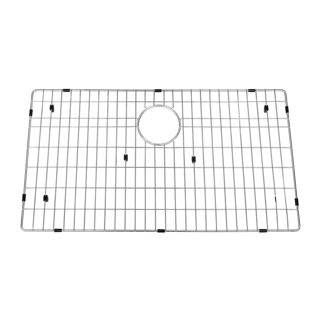 DAX Grid for Kitchen Sink, Stainless Steel Body, Chrome Finish, Compatible with DAX-SQ-3621, 32-1/2 x 15-1/2 Inches (GRID-SQ3621)