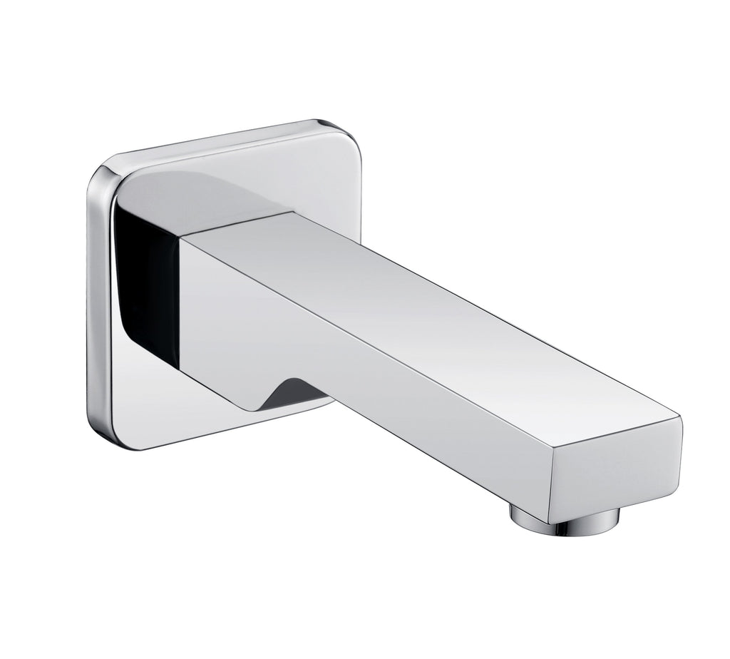 DAX Hot Tub Spout, Wall Mount, Cooper Alloy, Chrome Finish, 2-3/4 x 2-3/4 x 5-15/16 Inches (DAX-Z2252-CR)