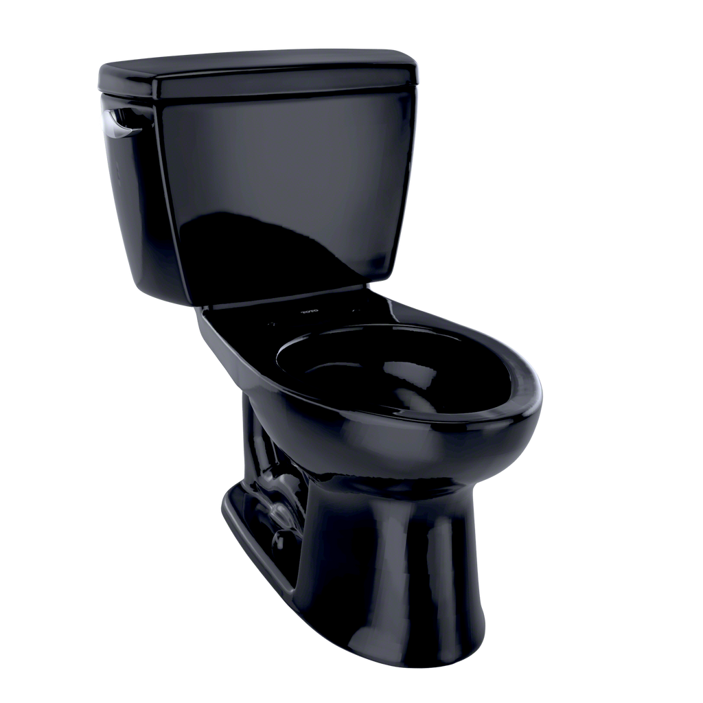 TOTO® Drake® Two-Piece Elongated 1.6 GPF Toilet, Ebony - CST744S#51