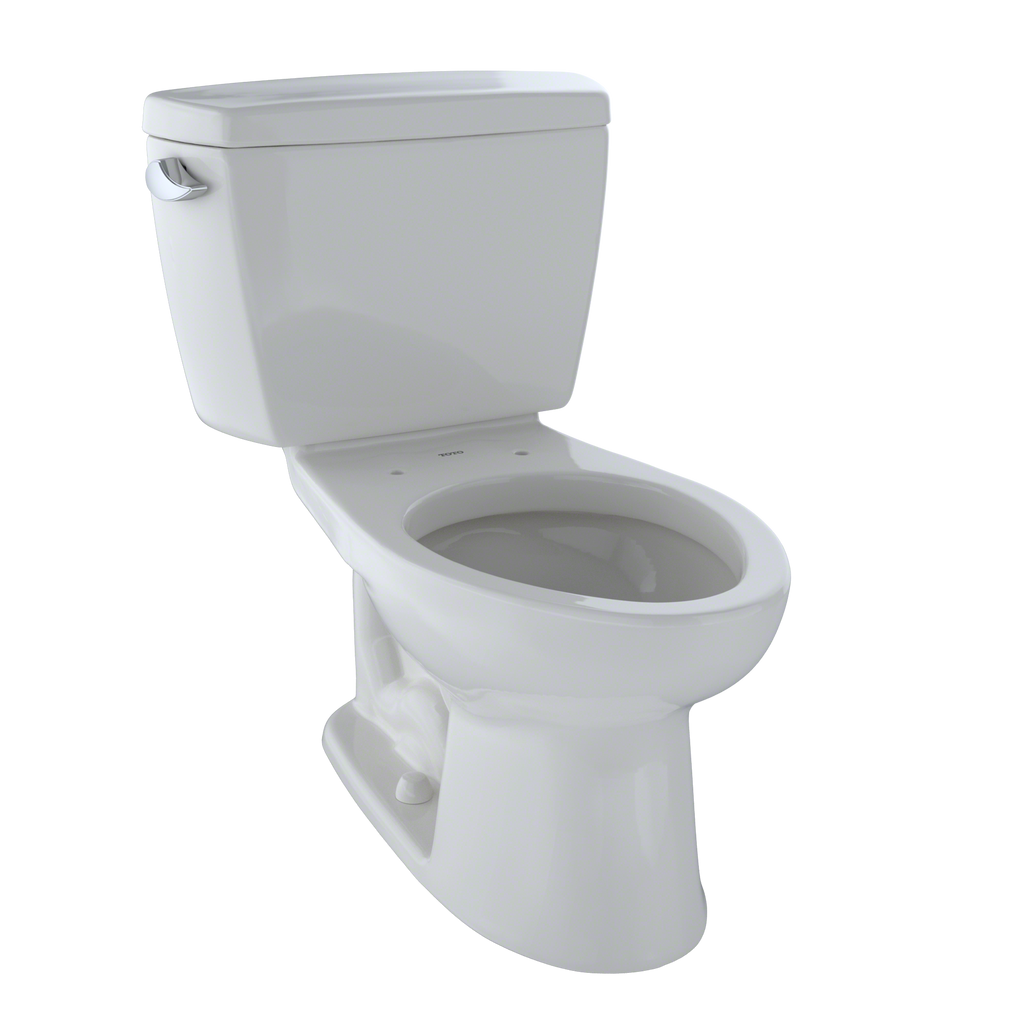 TOTO® Drake® Two-Piece Elongated 1.6 GPF Toilet, Colonial White - CST744S#11