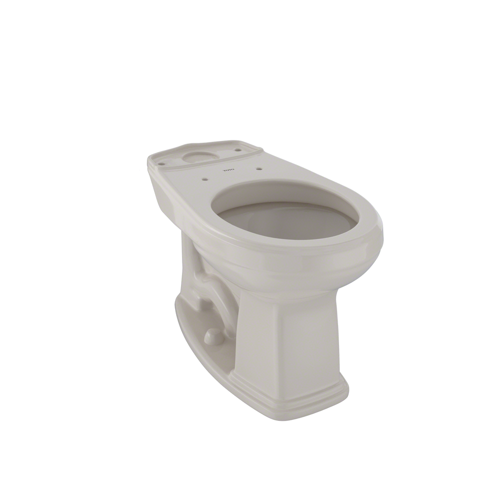 TOTO® Eco Promenade® and Promenade® Universal Height Round Toilet Bowl, Bone - C423EF#03