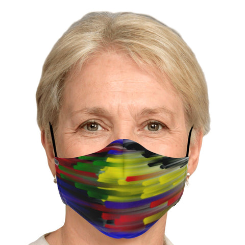 """FADE TO COLOR"" REUSABLE FASHION FACE MASK WITH REPLACEABLE FILTER"