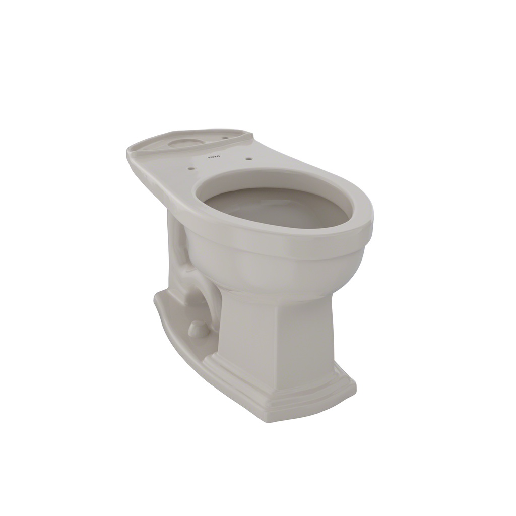 TOTO® Eco Clayton® and Clayton® Universal Height Elongated Toilet Bowl, Bone - C784EF#03