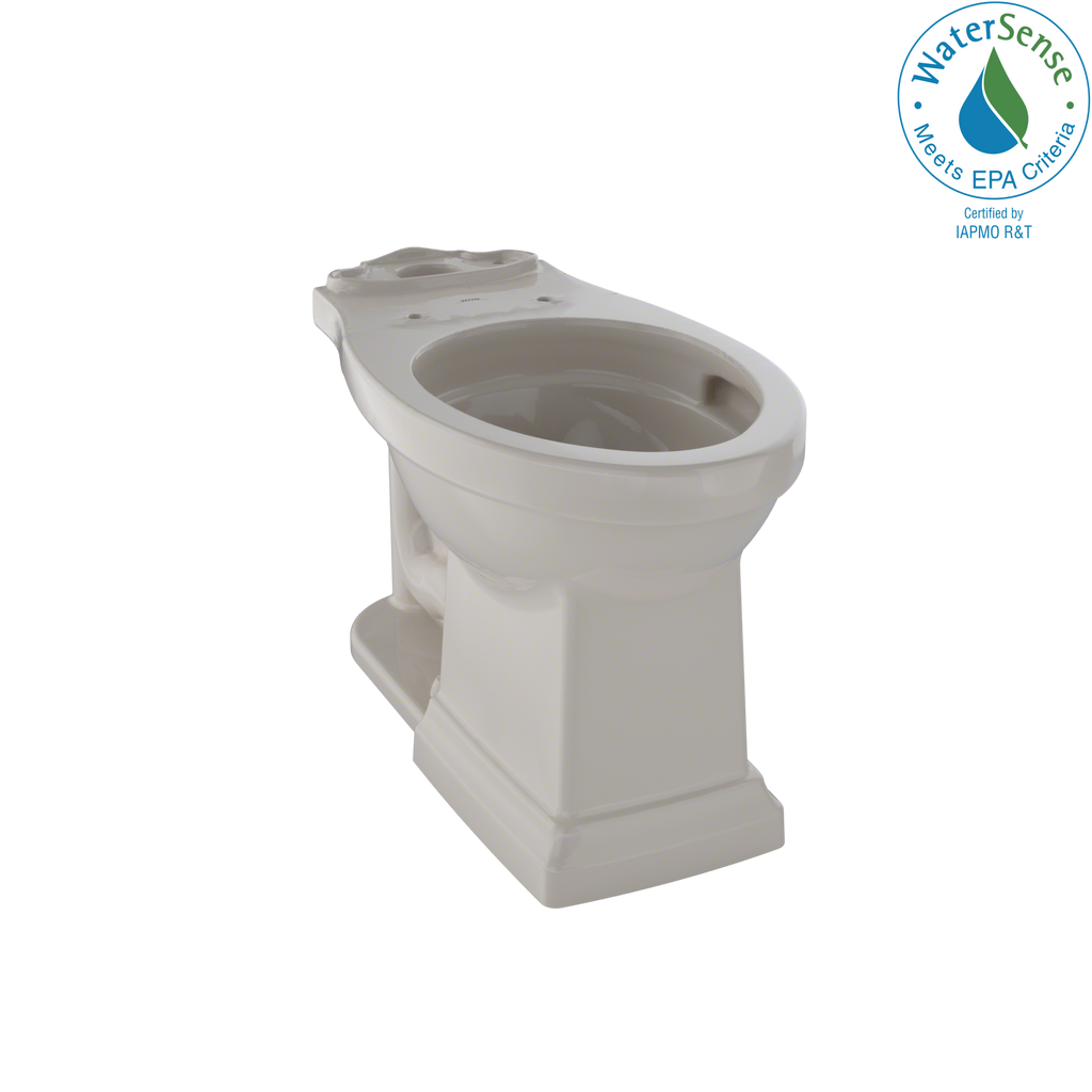 TOTO® Promenade® II Universal Height Toilet Bowl with CeFiONtect™, Bone - C404CUFG#03