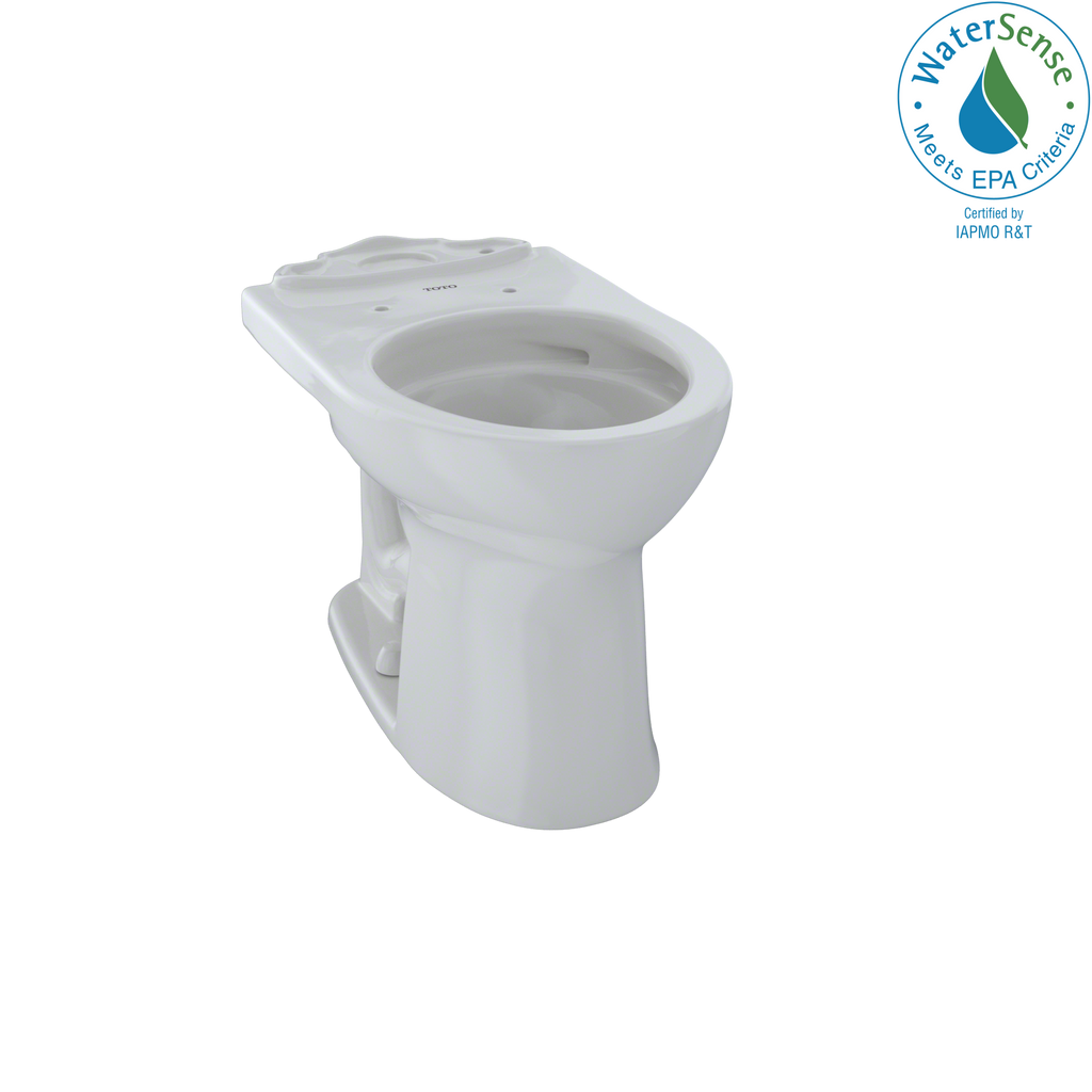TOTO® Drake® II Universal Height Round Toilet Bowl with CeFiONtect™, Colonial White - CST453CEFG#11