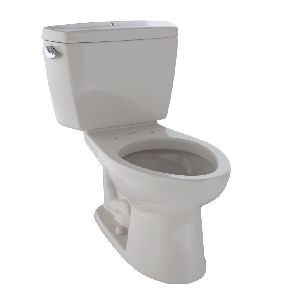 TOTO® Drake® Two-Piece Elongated 1.6 GPF Toilet with Insulated Tank and Bolt Down Tank Lid, Sedona Beige - CST744SDB#12