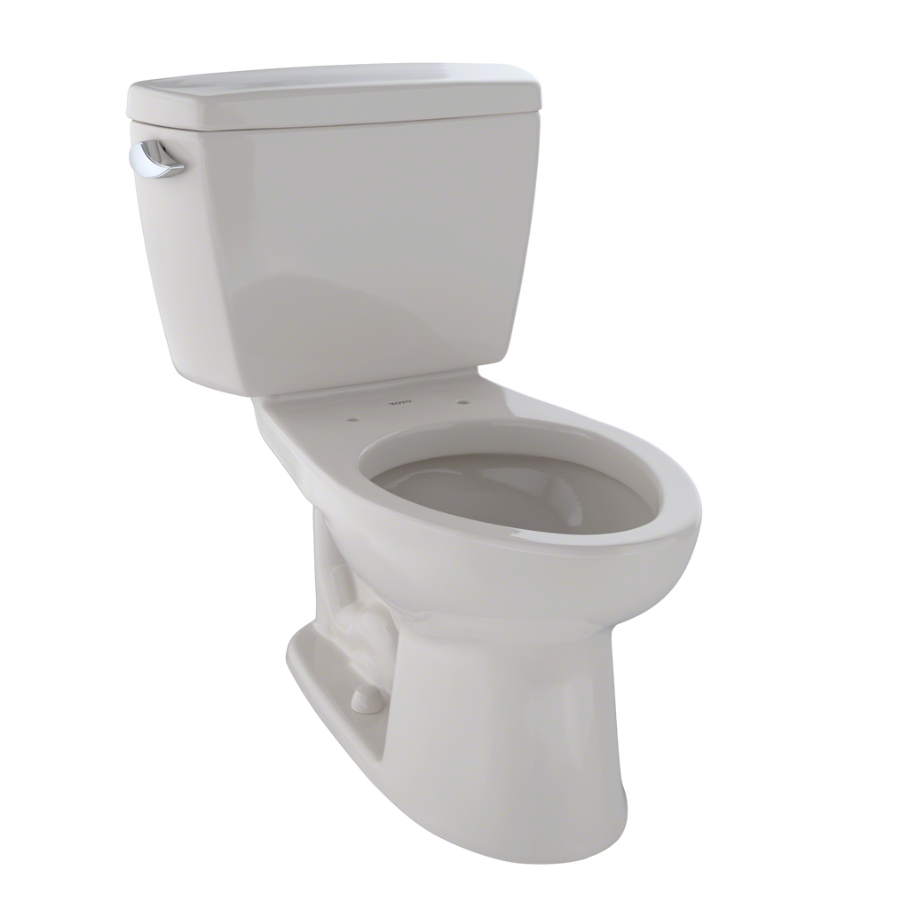 TOTO® Drake® Two-Piece Elongated 1.6 GPF ADA Compliant Toilet, Sedona Beige - CST744SL#12