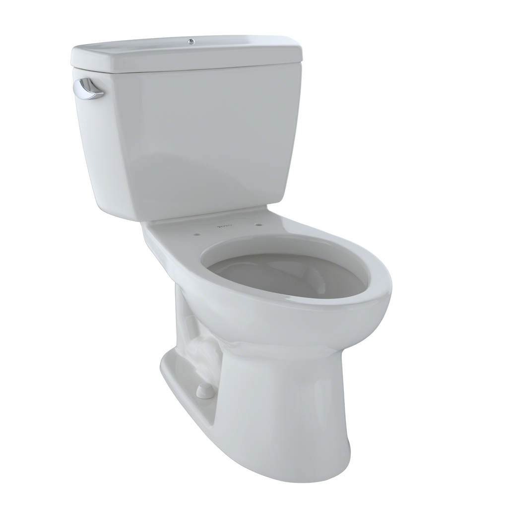 TOTO® Drake® Two-Piece Elongated 1.6 GPF Toilet with Bolt Down Tank Lid, Colonial White - CST744SB#11