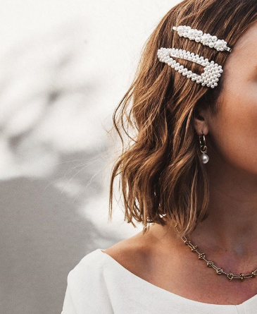Spring Trend: Pearl, Metal and Acrylic Hair Clips