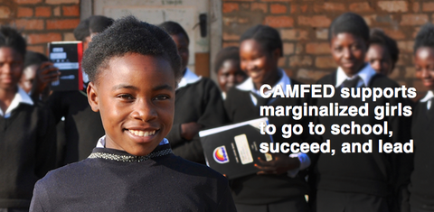 camfed charity organization helping girls around the world with education