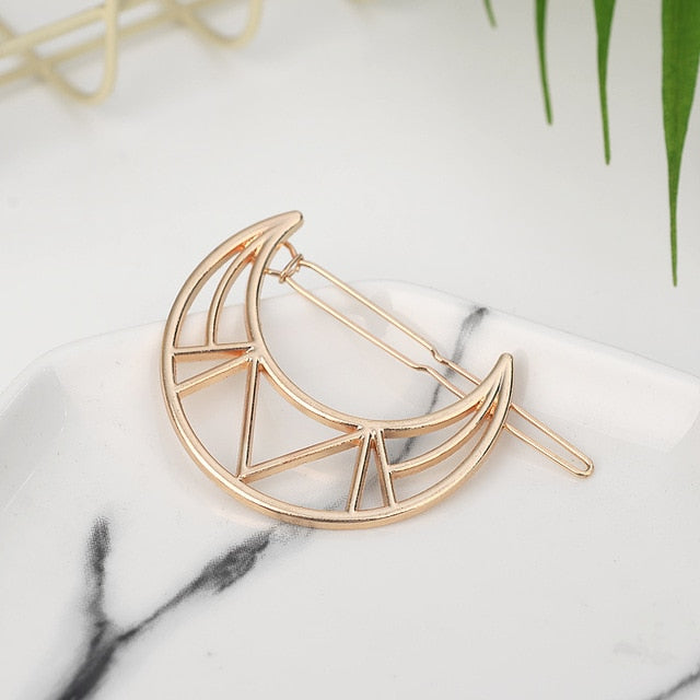 Geometric Hair Clip Collection - Hey Maisie