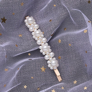 Pearl Cluster Gold-Pearl Collection Hair Clips - Hey Maisie