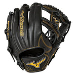 "New Mizuno MVP Prime Future Baseball Glove GMVP1125PY2 11.25"" Baseball RHT Black"