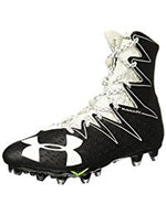 New Under Armour 1269693 Highlight Molded Football Cleats Men Size 16 Black/wht