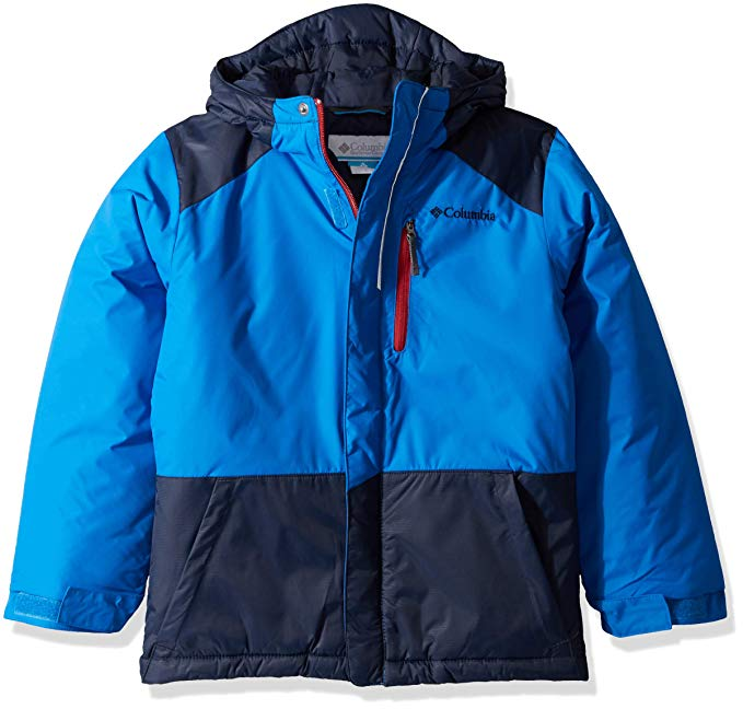 New Other Columbia Kids' Toddler Lightning Lift Jacket Large Blue/Navy