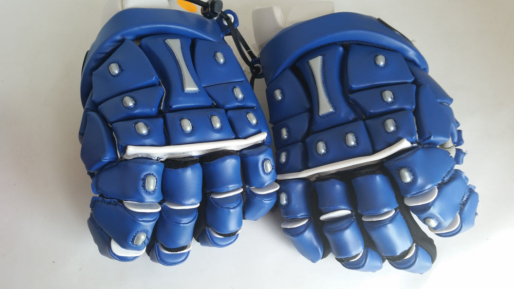 New Other Gait Identity Large Royal/Silver Adult Lacrosse Gloves NT