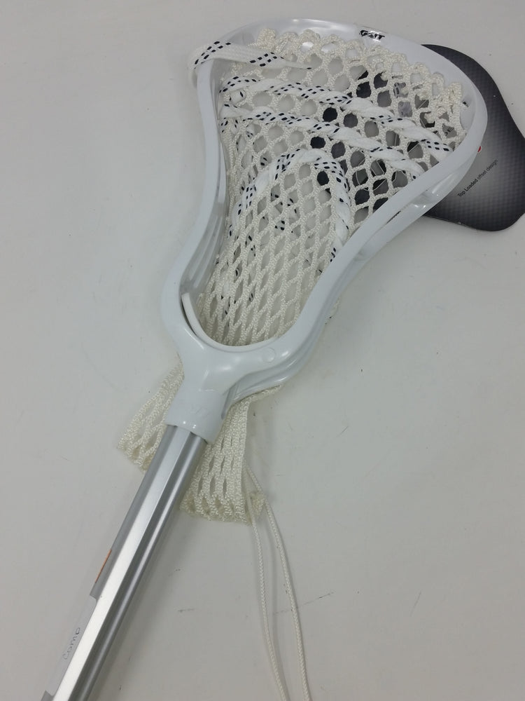 New Gait Havoc Complete Lacrosse Set White/White String 6000 Lax Stick