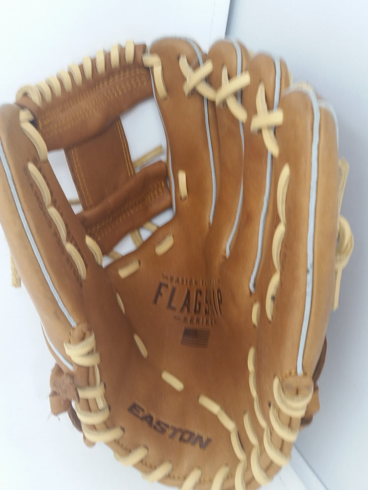"New No Tags Easton Flagship Series FS1150 RHT Baseball Infield Glove 11.5"" Brown"