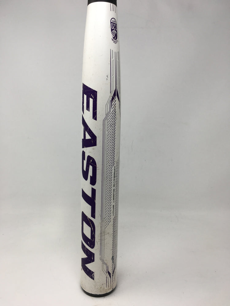 Used Easton Stealth Speed 31/21 FP11ST10 Fastpitch Softball Bat White/Purple