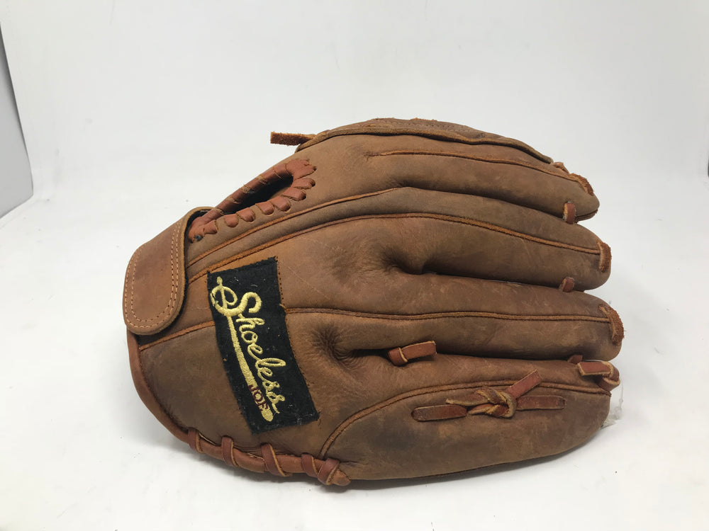 "New Shoeless Joe 12"" Professional Model Brown LHT Fastpitch Glove Leather!"
