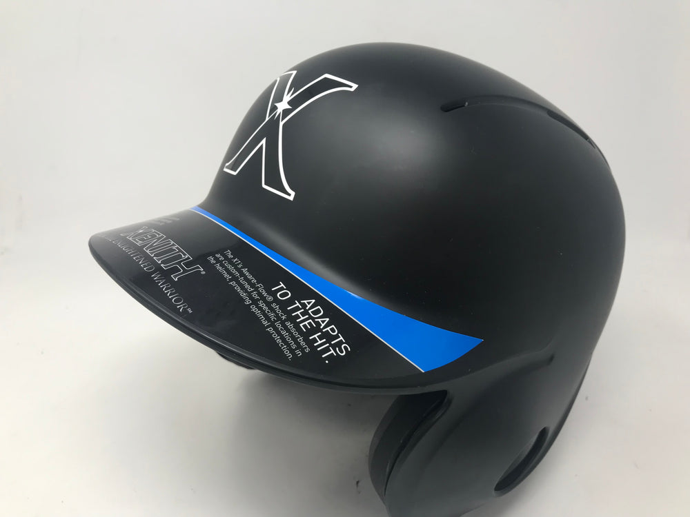 New Xenith X1 Baseball Batting Helmet Medium Matte Black Fit Seeker