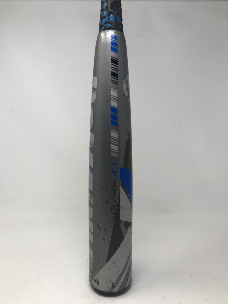 Used DeMarini 32/29 CFC15 CF7 (-3) BBCOR Baseball Bat Slvr/Blue 2015