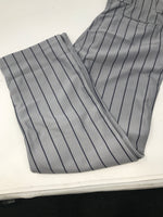 New Rawlings Youth Large YBP95MR Relaxed Fit Baseball Pants Large Gray/Navy