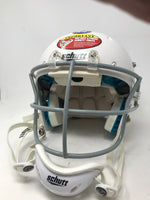 New Other Schutt Recruit Hybrid Youth X-Small Football Helmet White/Gray 7980