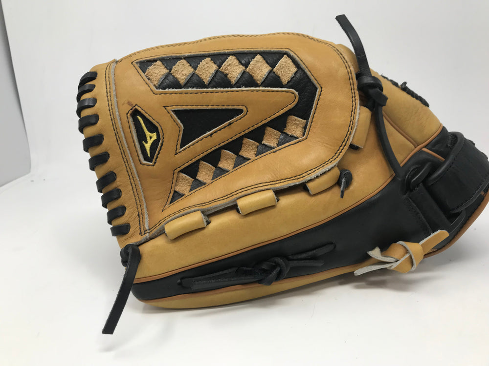 "New Mizuno Classic Glove GCF1250 12"" Fastpitch Softball Tan/Black LHT"