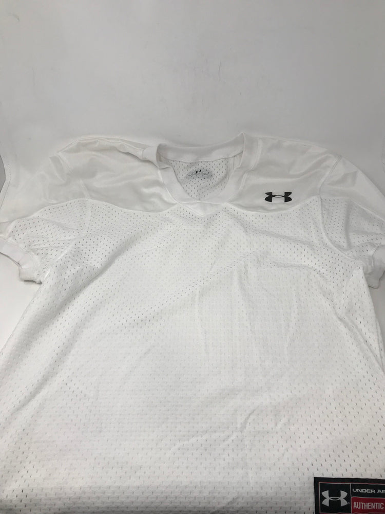 New Under Armour Mens Heat gear Football Penny XLarge White