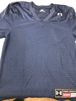 New Under Armour Youth Medium Blue Football Short Sleeve Shirt