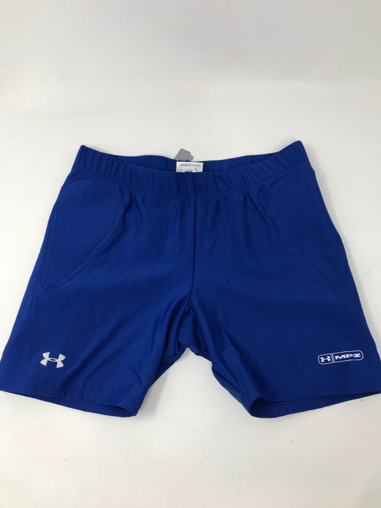 New Under Armour 1001276 400 womens Rundown Slider Large Royal