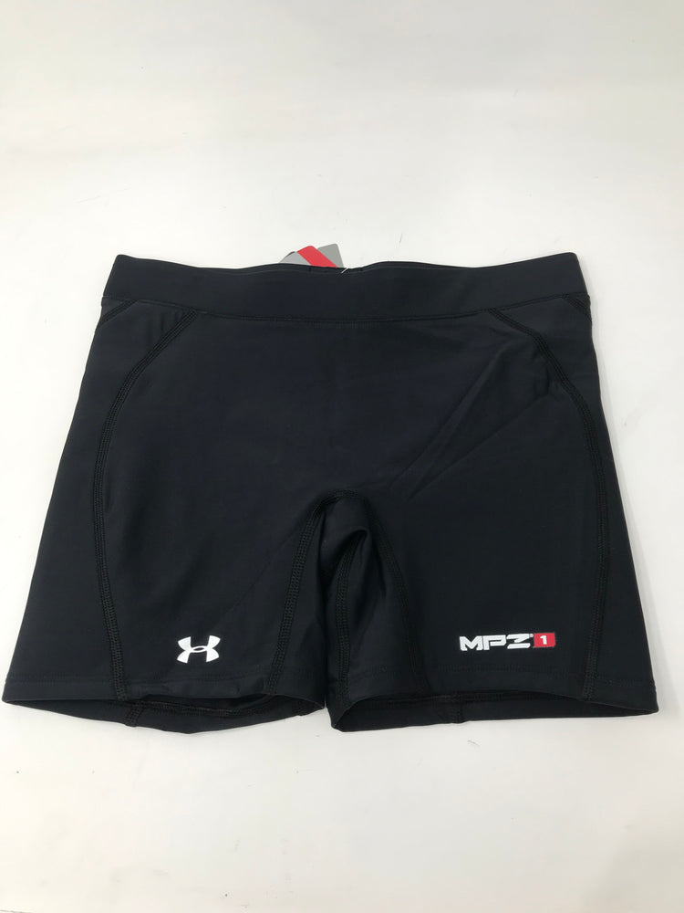 New Under Armour Womens Torque Slider Compression short Wmn XL Black